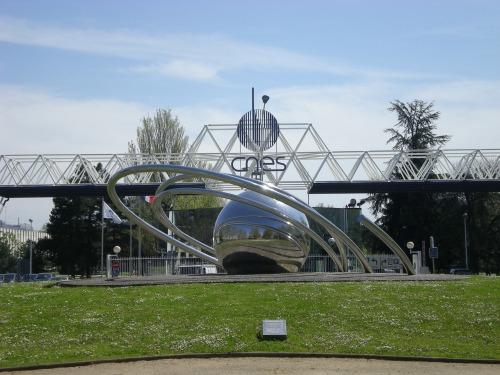 Sede Oficial da Agência espacial francesa - Crédito: CNES