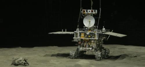 Robô para exploração do solo lunar - Coelho de Jade